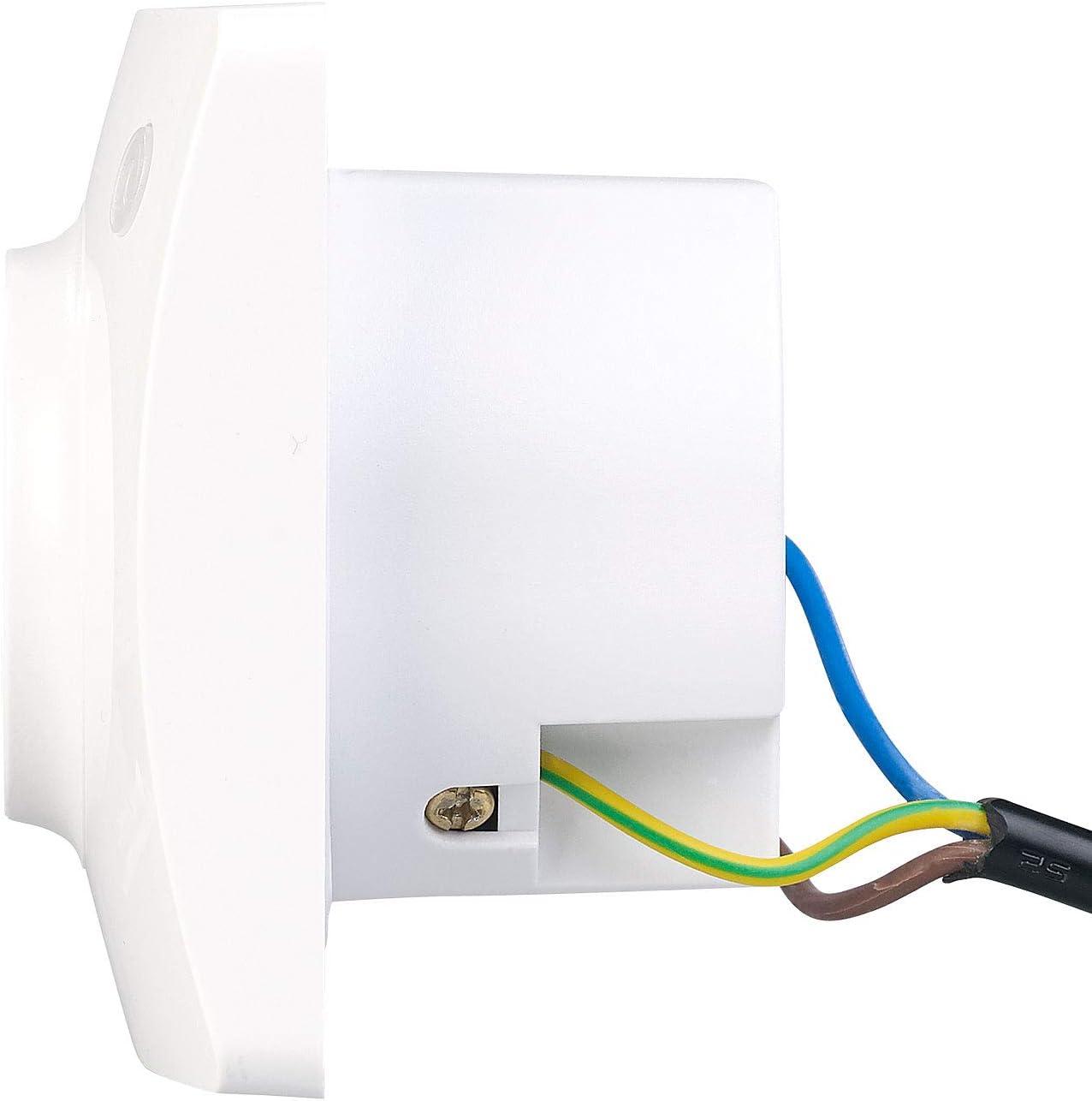 Luminea Home Control Prise encastr/ée connect/ée compatible avec  Alexa et Assistant Google
