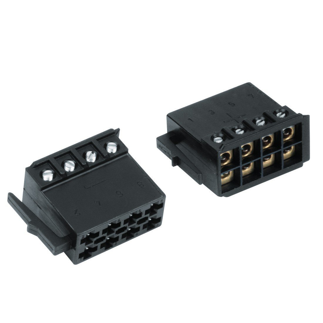 Hama ISO-Lautsprecherstecker schraubbar: Amazon.de: Elektronik