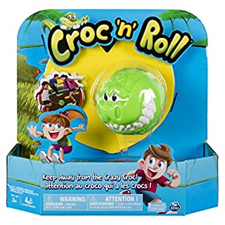 Spin Master Games Croc 'n' Roll - Fun Family Game for Kids Aged 3 and Up, Multicolor (6044141)