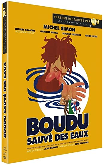 Amazon.com: Boudu Saved From Drowning (Boudu sauvé des eaux) [Blu-Ray Region A/B/C Import - France]: Michel Simon, Jean Renoir: Movies & TV