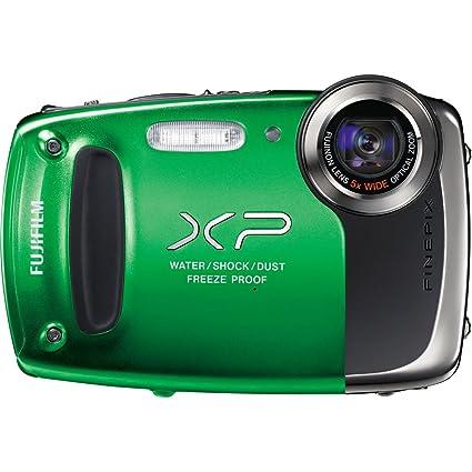 amazon com fujifilm finepix xp50 digital camera green point rh amazon com Fujifilm XP Waterproof Fujifilm XP Series GPS Tag