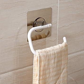 BEIEU - Colgador de toallas, portaherramientas, soporte de baño, barra libre, barra simple, baño, tapiz: Amazon.es: Bricolaje y herramientas