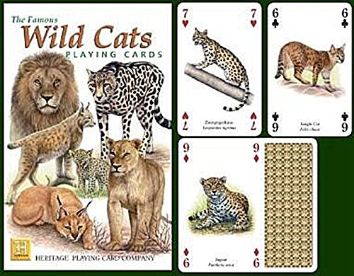 The Famous Wild Cats Playing Cards Heritage SG/_B000LSTBMO/_US