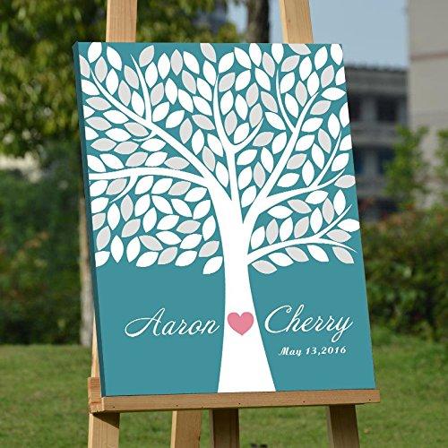 custom wedding guest book - 3