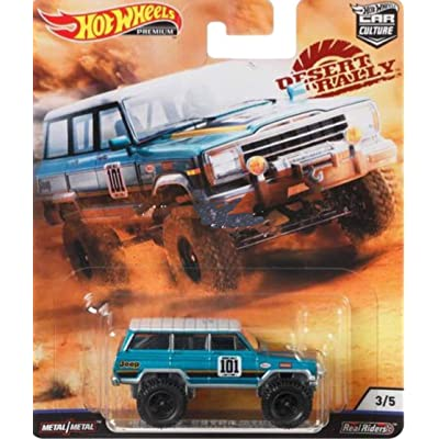 Hot Wheels Car Culture 1988 Jeep Wagoneer: Toys & Games