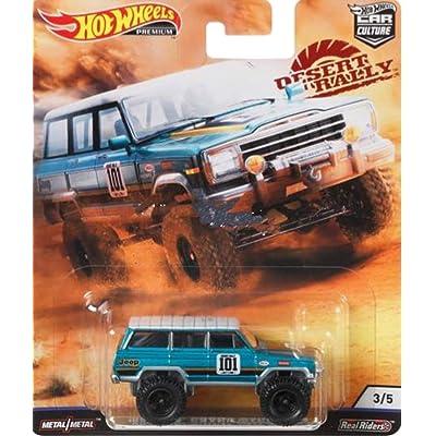 Hot Wheels Car Culture 1988 Jeep Wagoneer: Toys & Games