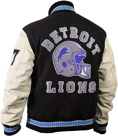 RLW Detroit Hills Beverly Cop Lions Letterman Jacket