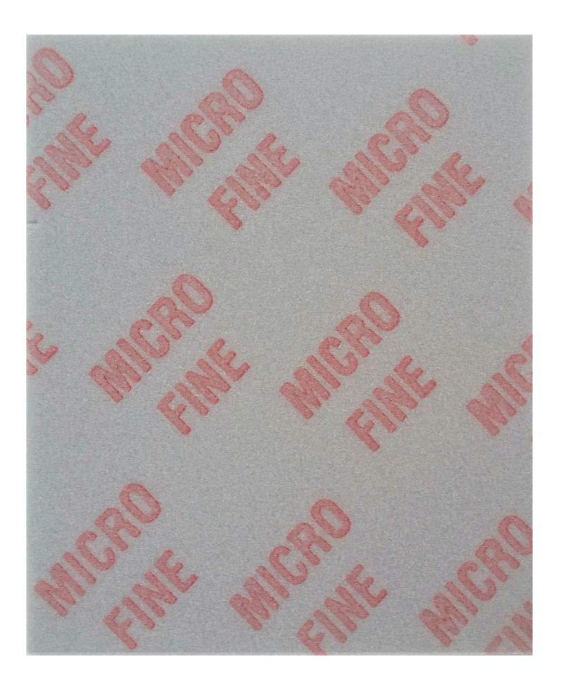 20pc Micro Fine Medium Softback Sanding Sponge Detailing Abrasive