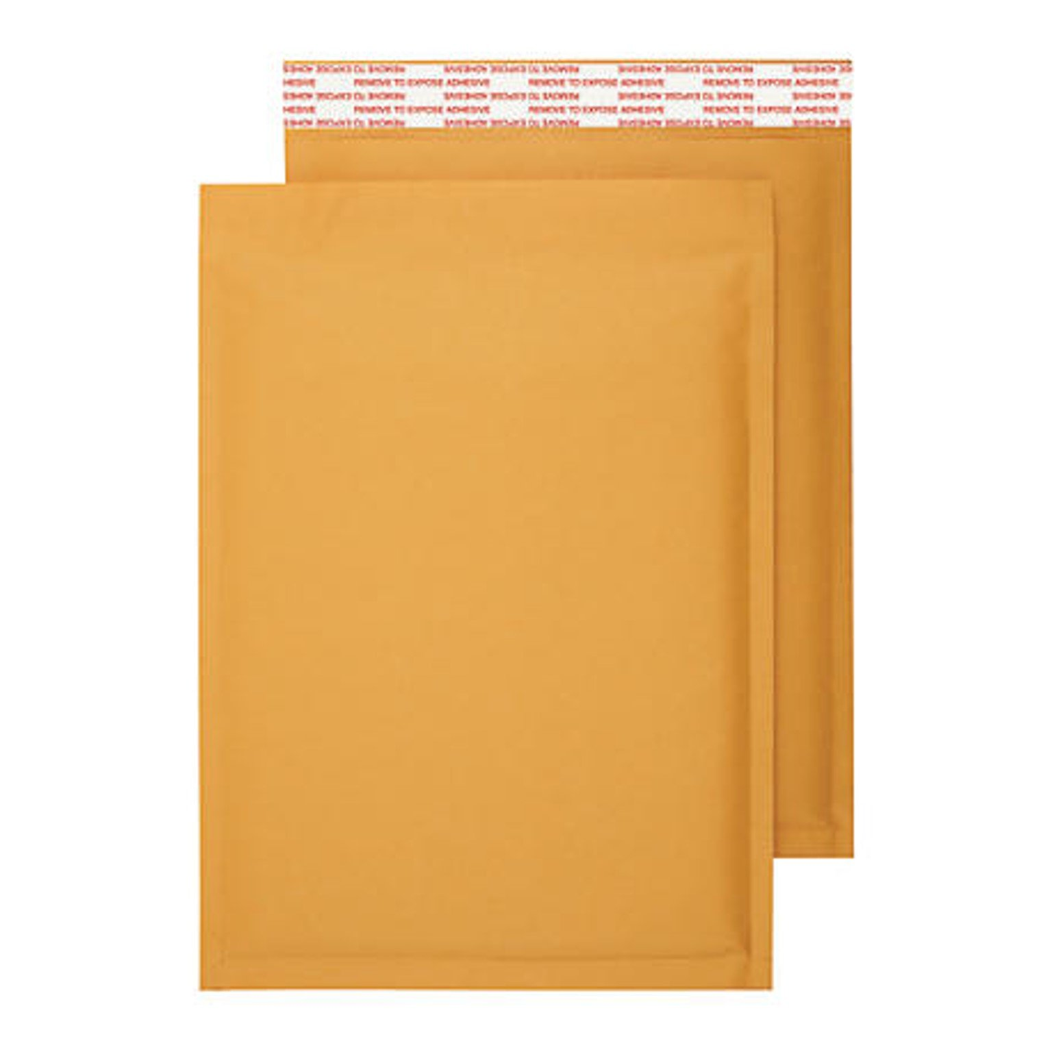 OfficeKit Kraft Bubble Mailers #0 6X10 Inches Shipping Padded Envelopes Self Seal Cushioned Mailing Envelope Bags 100 PACK by OfficeKit (Image #4)
