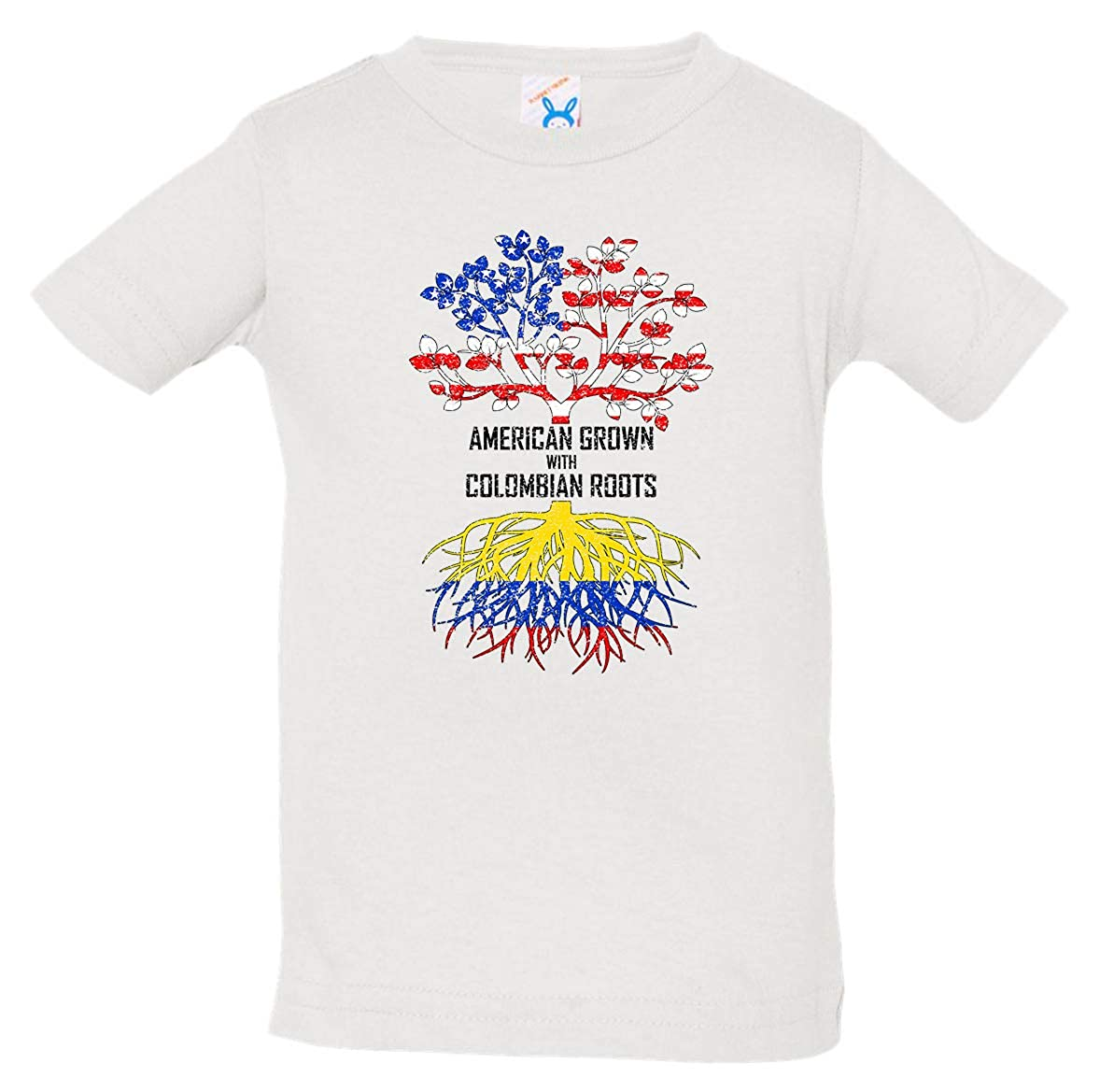 Tenacitee Babys American Grown with Colombian Roots Shirt