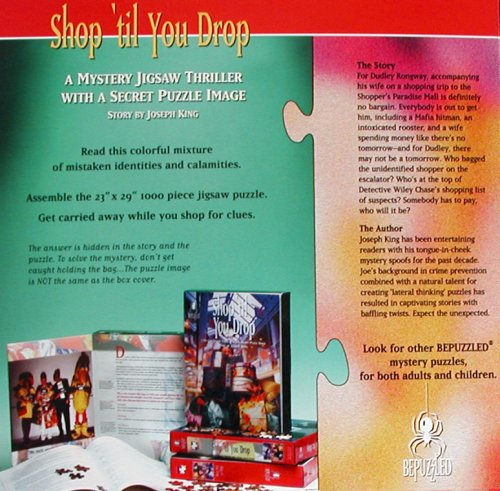 Mystery Jigsaw Puzzle - Shop Til You (Bepuzzled Mystery Games)
