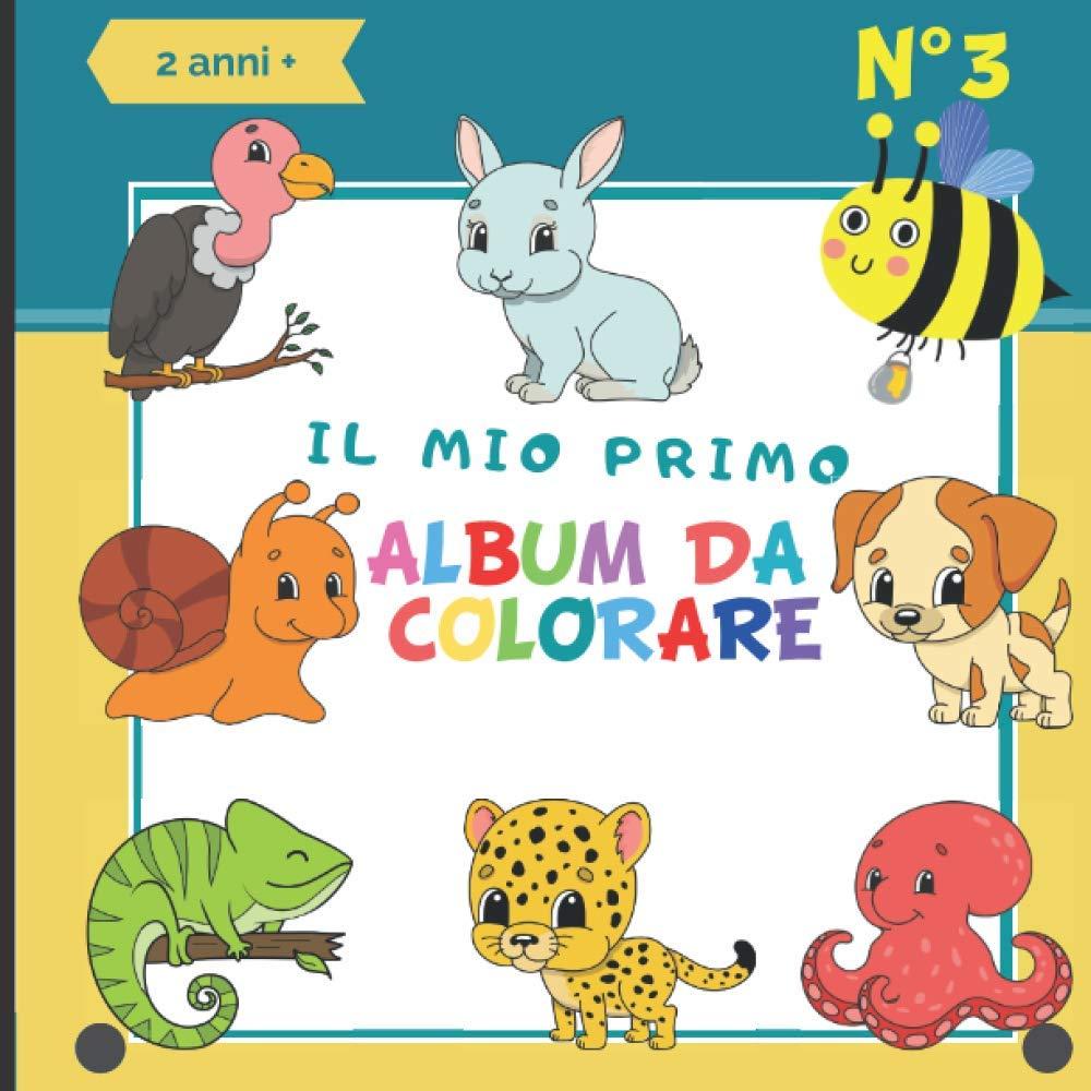 Il mio primo album da colorare N°3