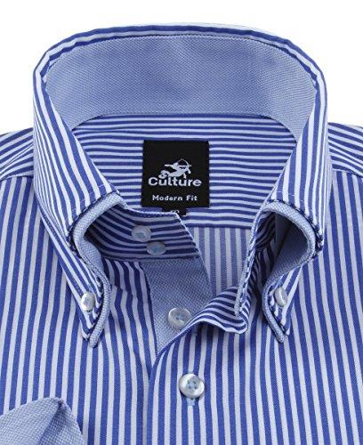 Culture Herren Hemd mit Doppelkragen Button-Down