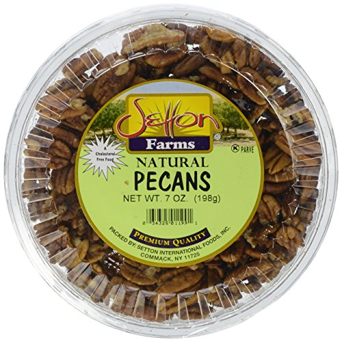 setton farms pecans 7 oz container amazon com grocery gourmet food