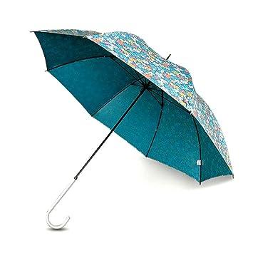 WW Paraguas de sol de uso múltiple y flores florales / Sombrilla / Protector solar Anti