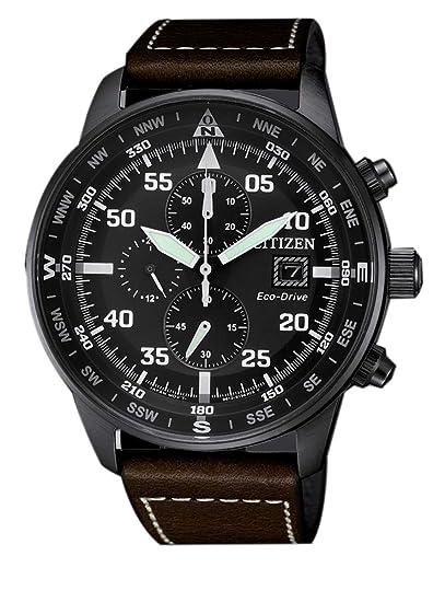 Citizen, Reloj con cronógrafo para hombre, de la colección Aviator Chrono CA0695 - 17E: Amazon.es: Relojes