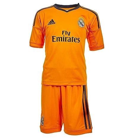 adidas - Conjunto Junior 3ª equipación Real Madrid 2013-2014