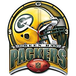 Green Bay Packers High Definition Plaque Wall Clock