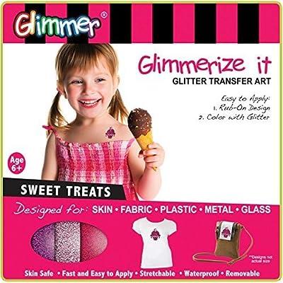 Glimmerize It! Glitter Transfer Art: Sweet Treats: Toys & Games