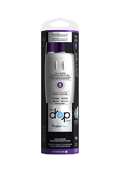 EveryDrop Premium Refrigerator Water Filter Replacement (EDR1RXD1B)  The  ONLY water filter approved for*: Maytag , Whirlpool, KitchenAid, Amana  brand