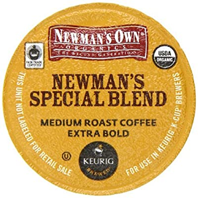 Newman's Own Organics, Special Blend Extra Bold K-Cup Portion Pack for Keurig K-Cup Brewers, 50 count, Garden, Lawn, Maintenance
