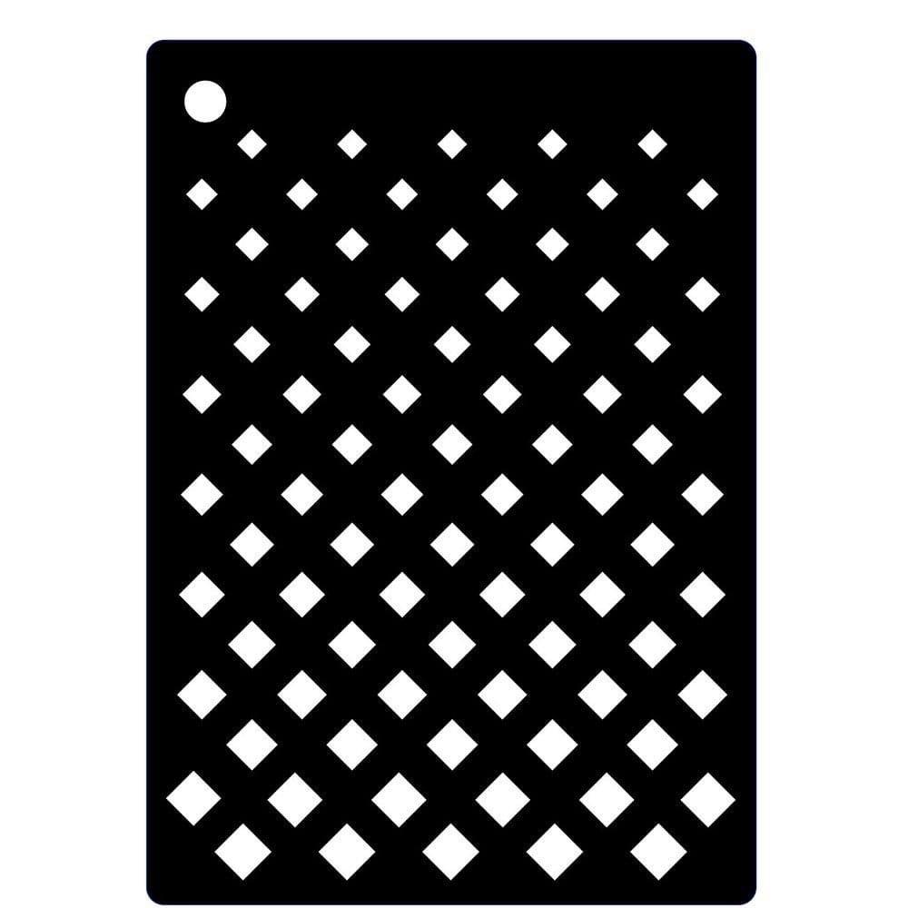 Creative Expressions Mini Stencil, 10.5cm x 7.4cm CEMSGRAD