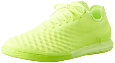 Nike Men's MagistaX Finale IN Indoor Soccer Shoe (Sz. 8) Volt