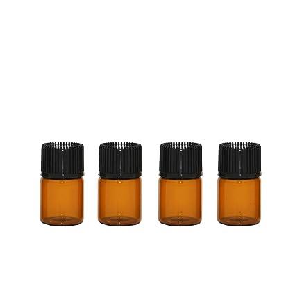 furnido 30 unidades 1 ml/2 ml/3 ml recargables Amber aceite ...