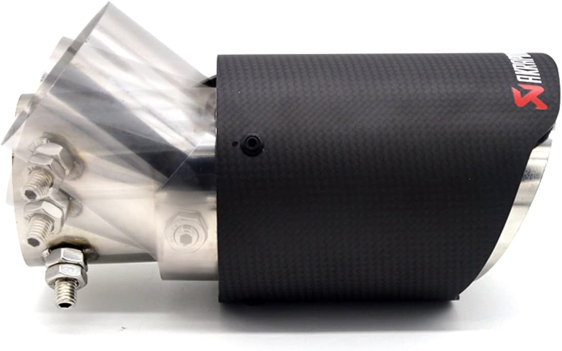 Emblem Trading Emblem Auspuff Endrohr Blende Carbon Matt Verstellbar M3 M4 M5 M6 Amg Sline Rline Gti R Gtd S3 S5 S6 Rs3 Rs5 Rs6 Auto
