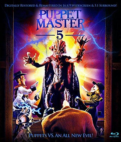 Five Puppets - Puppet Master 5 [Blu-ray]