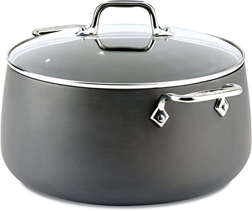 All-Clad 1 E7855264 HA1 Hard Anodized Nonstick Dishwasher Safe PFOA Free Stock Pot