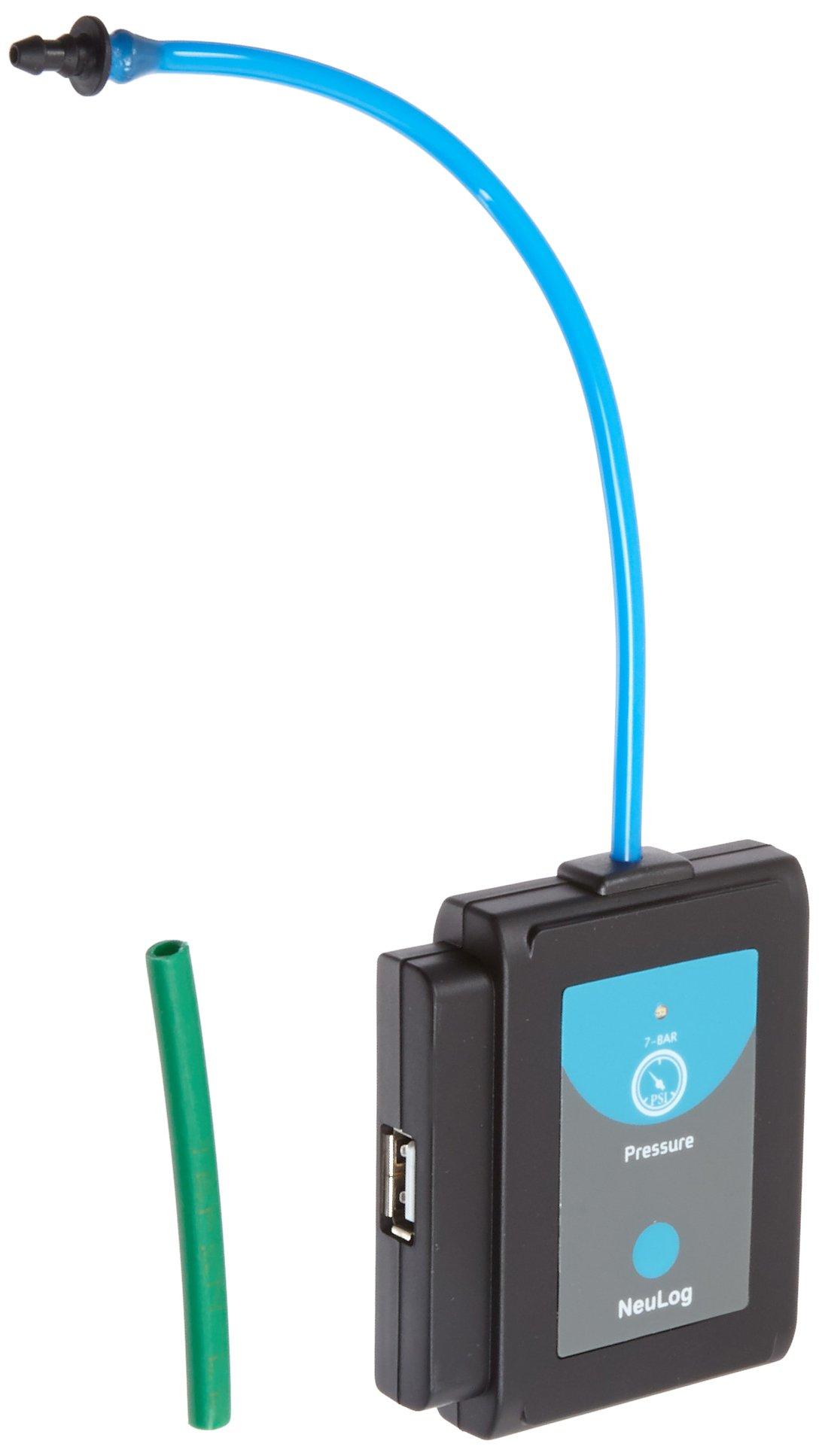 NEULOG Pressure Logger Sensor, 16 bit ADC Resolution, 100 S/sec Maximum Sample Rate