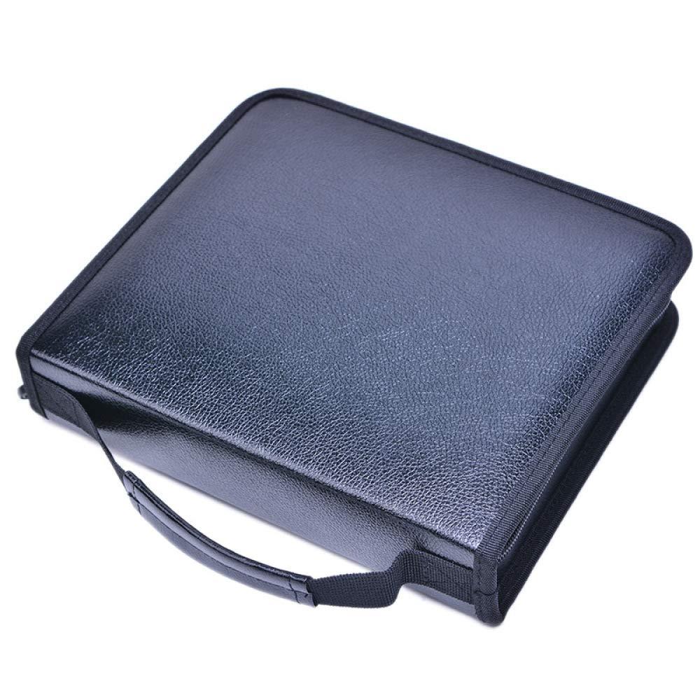 Amazon.com: Large Capacity Brush Storage Bag PU Pencil Case ...