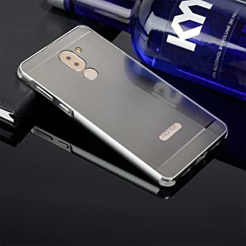 newest a9f21 3885c BtDuck Compatible with Huawei GR5 2017 Mate 9 Lite Honor 6x Silver ...