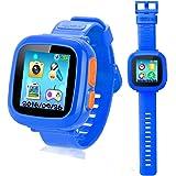 Smart Watch Armbanduhr für Kinder mit Digitalkamera Spiele Touchscreen, Coole Spielzeug Uhr Geschenke für Mädchen Jungen
