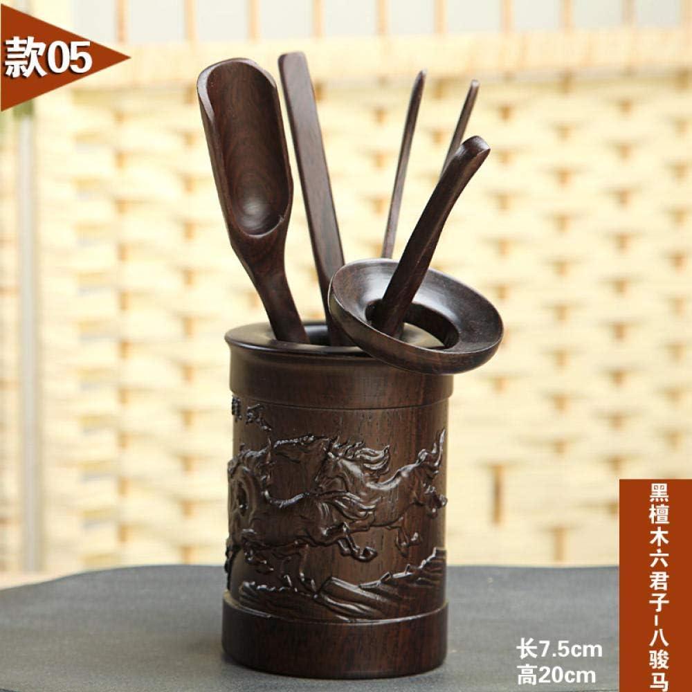 Tea Accessories Tea Ceremony six Gentleman Tea Set Tea Set Accessories Tea Ceremony Tea clip-24 Flower pear Hexagon Tea Ceremony jnkkfd2802