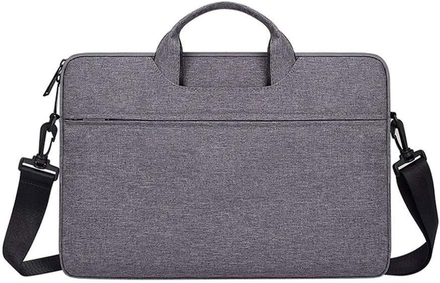 Laptop Bag Laptop Bag 13.3 15.6 14-inch Waterproof Laptop Protective Case 15 15 PC Bag Shoulder Bag Lady Ladies Briefcase Colore : Black II, Dimensioni : 15.6 inch