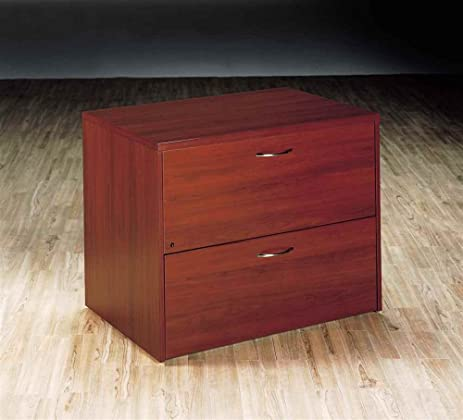 Inverness 2 Drawer Lateral File Cabinet (Honey Cherry)