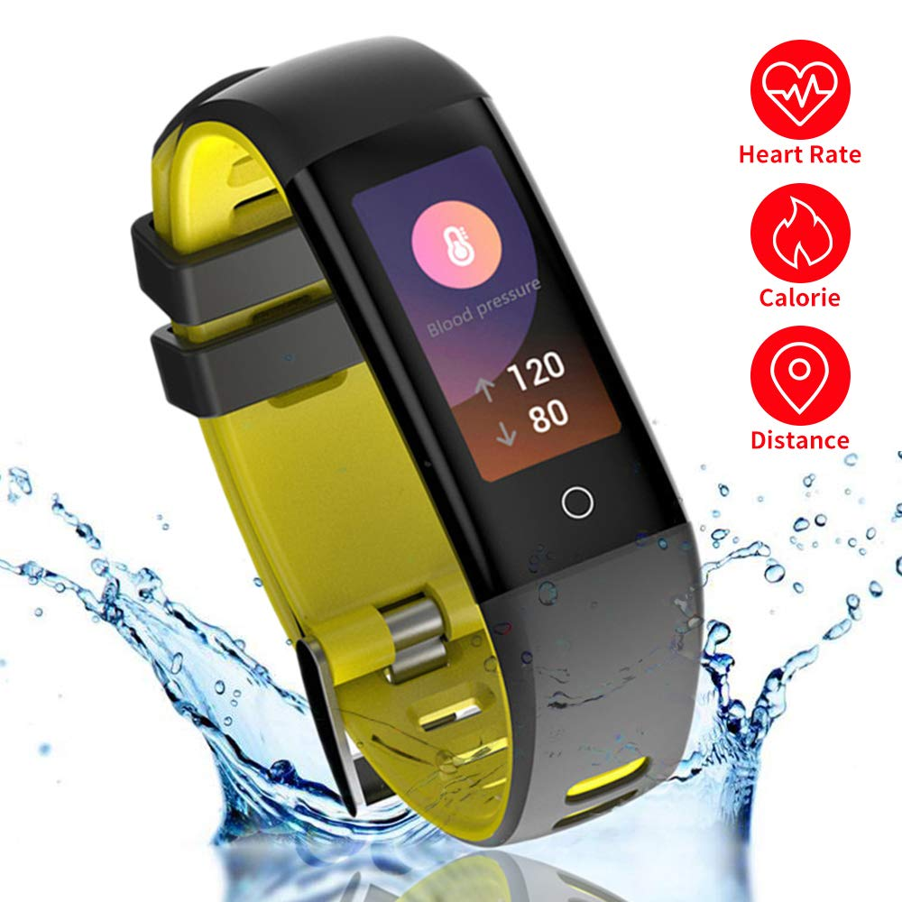 New Smart Fitness Tracker, Bluetooth Smart Watch with Blood Pressure/Heart Rate/Sleep/Pedometer/Camera Remote Shoot G16 Smart Wristband Bracelet for Kids Men Women