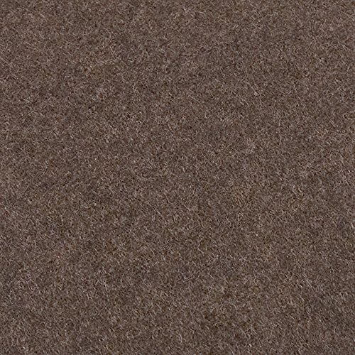"Nail-On Heavy Duty Felt Pads for Wood Furniture and Hard Floor Surfaces – Protect your Hard Floor Surfaces from Scratches, 1"" and 1-1/2'' Round Furniture Protectors, Walnut Brown (48 Pieces) by Soft Touch (Image #1)"