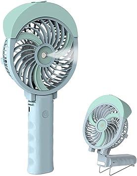 Ventilador Nebulizador de Mano, Enfriador de Aire, Mini Ventilador de Escritorio Pequeño, Ventilador Plegable con Batería Recargable/Eléctrico Operado por Usb, Ventilador de Enfriamiento Portátil,: Amazon.es: Bricolaje y herramientas