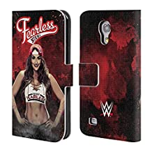 Official WWE LED Image Nikki Bella Leather Book Wallet Case Cover For Samsung Galaxy Note 4