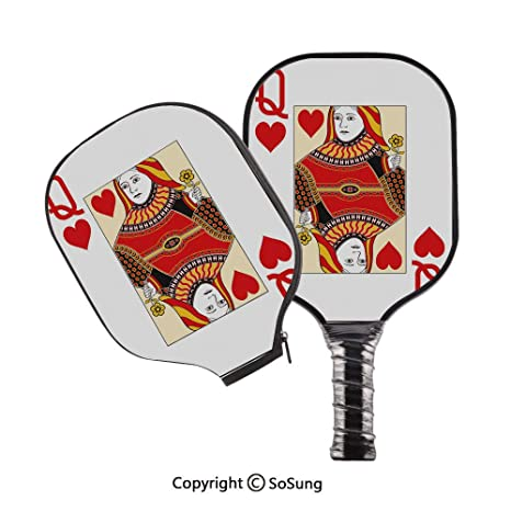 Amazon.com : Queen Pickleball Paddle Graphite Pickleball ...