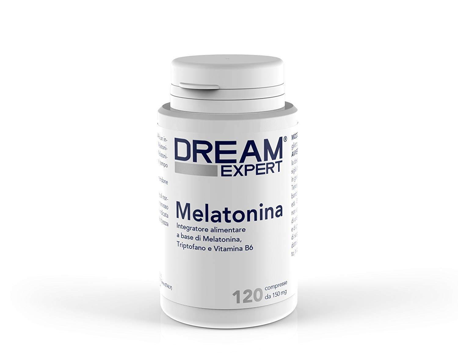 Dream Expert - 120 tabletas - Suplemento con Melatonina (1 mg) + Triptófano (75 mg) y Vitamina B6 (1,4 mg) - ACCIÓN RÁPIDA: Amazon.es: Salud y cuidado ...