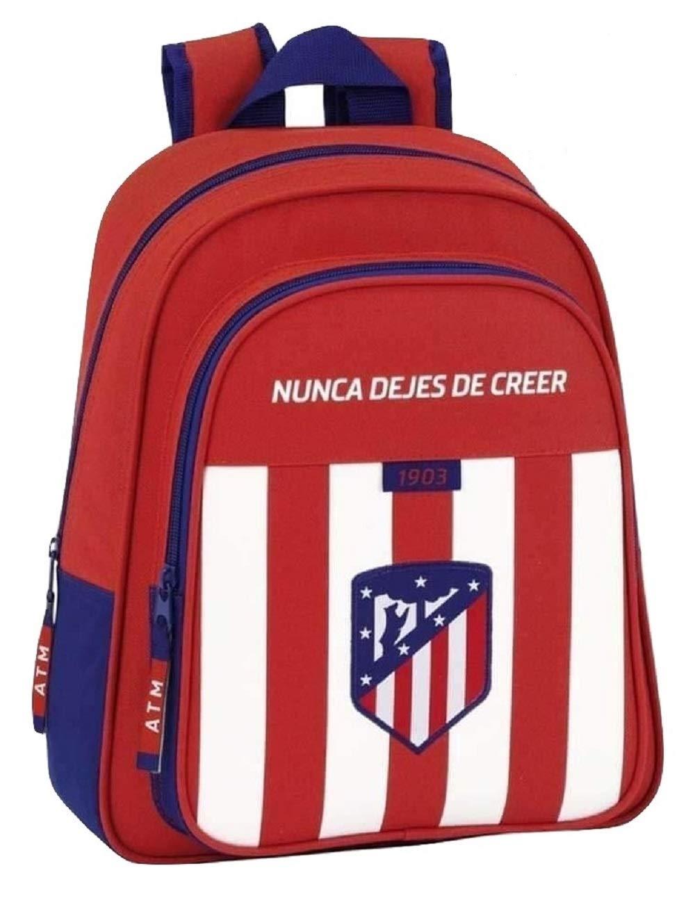 Safta Mochila Atlético De Madrid Oficial Mochila Infantil 280x100x340mm: Amazon.es: Equipaje
