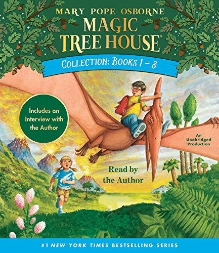 Magic Tree House Collection: Books 1-8: Dinosaurs Before Dark, The Knight at Dawn, Mummies in the Morning, Pirates Past Noon, Night of the Ninjas, ... the Amazon, and more! (Magic Tree House (R))