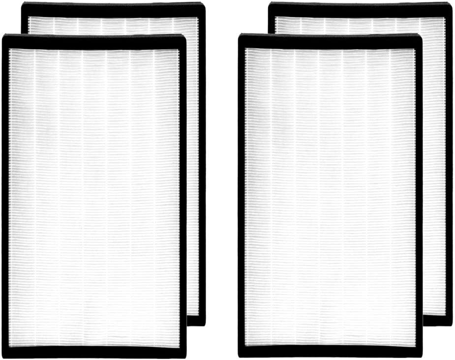 Medify Air MA-112 Replacement Filter | 2 Sets of filters | Medical Grade True HEPA H13 (2-Sets, 4 Total Filters))