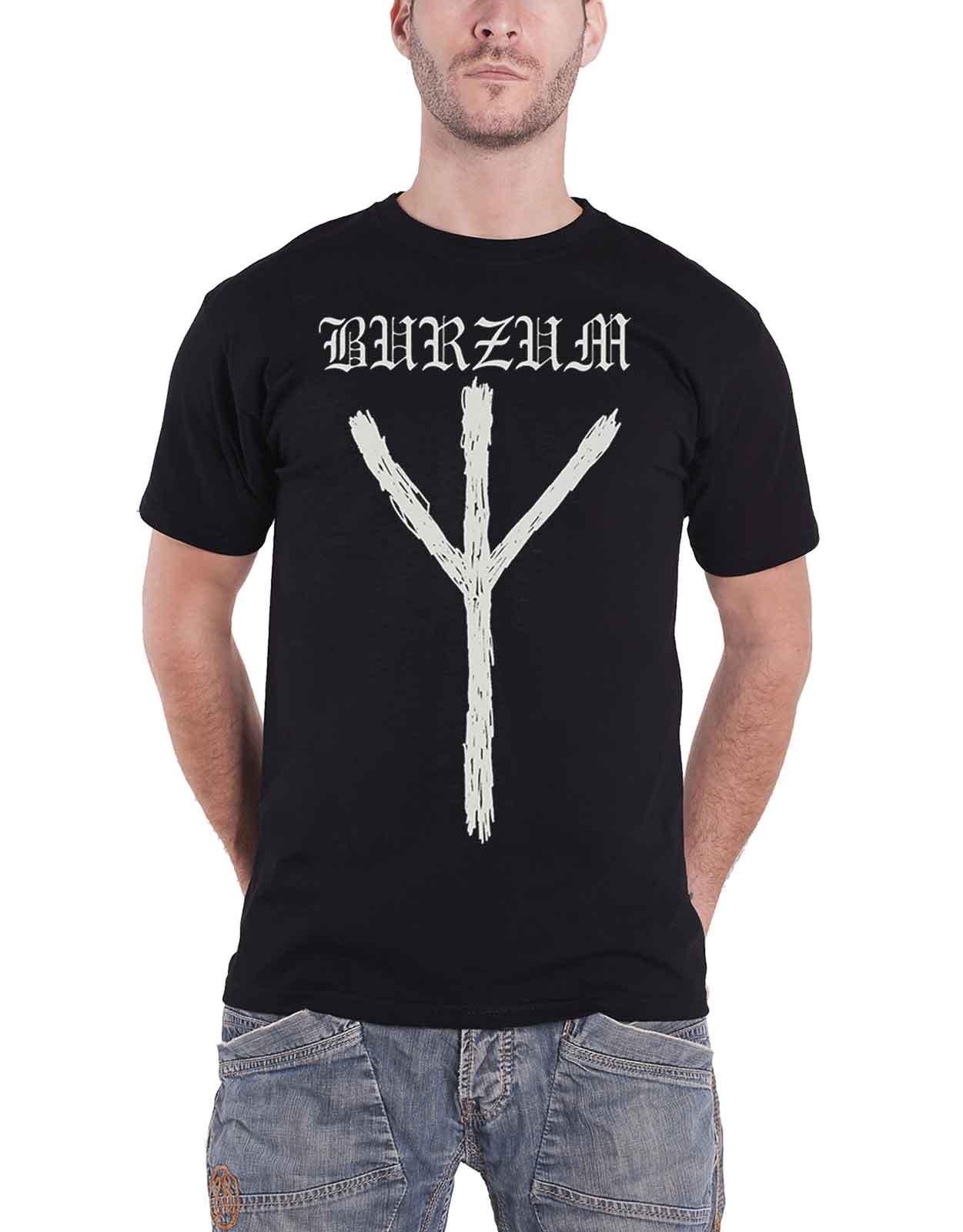 Burzum T Shirt Rune Band Logo S 1785