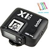 Godox X1R-S 2.4G TTL High Speed Sync Wireless Flash Receiver Compatible for Sony Camera + CONXTRUE USB LED (X1R-S Receiver)