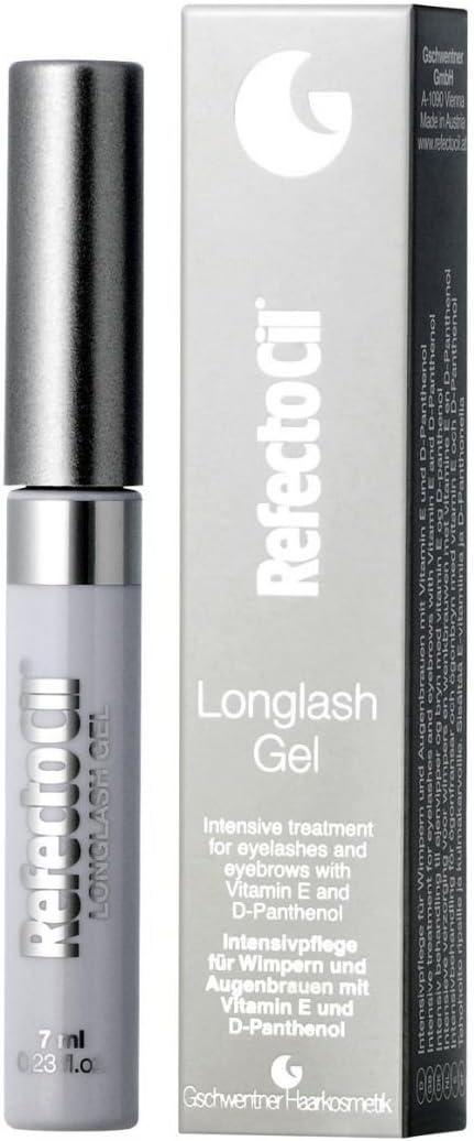 RefectoCil Long Lash Gel Tratamiento Intensivo para Pestañas y Cejas - 7 ml
